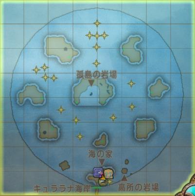 アワウキ貝2の場所
